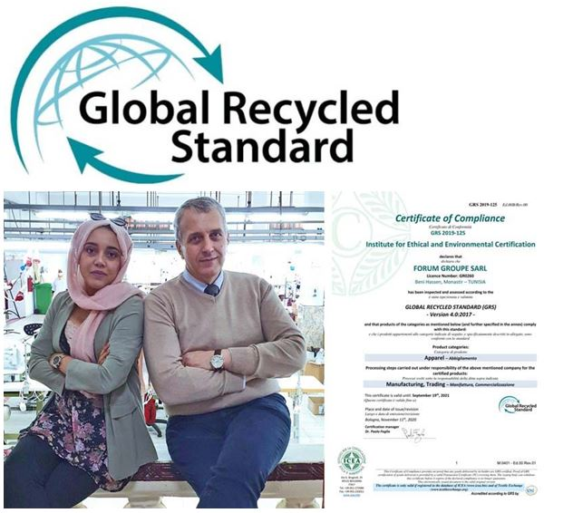 Forum Groupe: GRS environmental certification confirmed